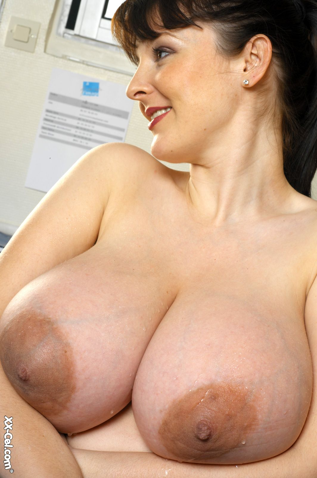 Nude girl with black long nipples opinion you