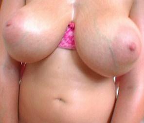 Veiny saggy tits big nipple porn